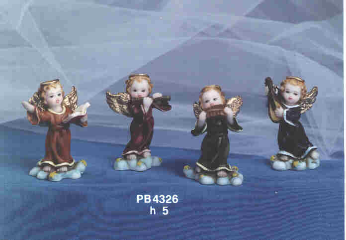 1008 - Angeli Resina - Natale e Altre Ricorrenze - Prodotti - Rebolab