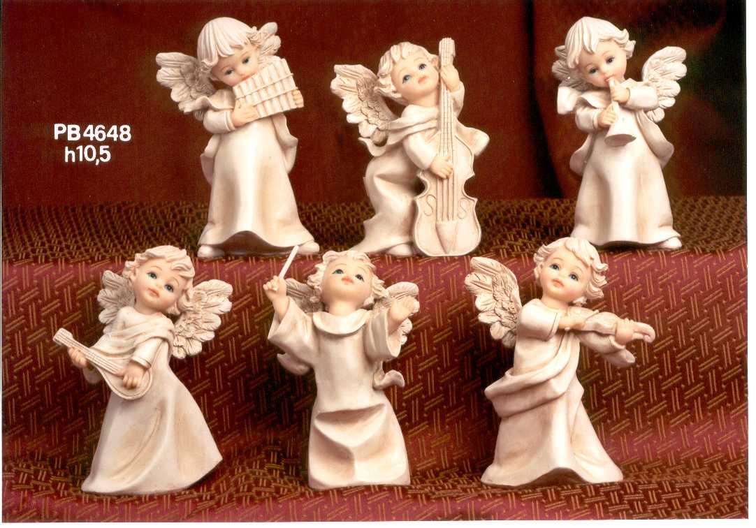 101C - Angeli Resina - Natale e Altre Ricorrenze - Prodotti - Rebolab
