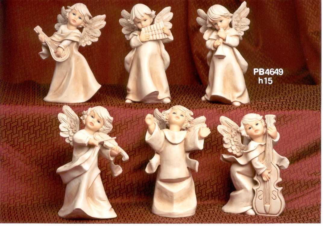 101D - Angeli Resina - Articoli Religiosi - Prodotti - Rebolab