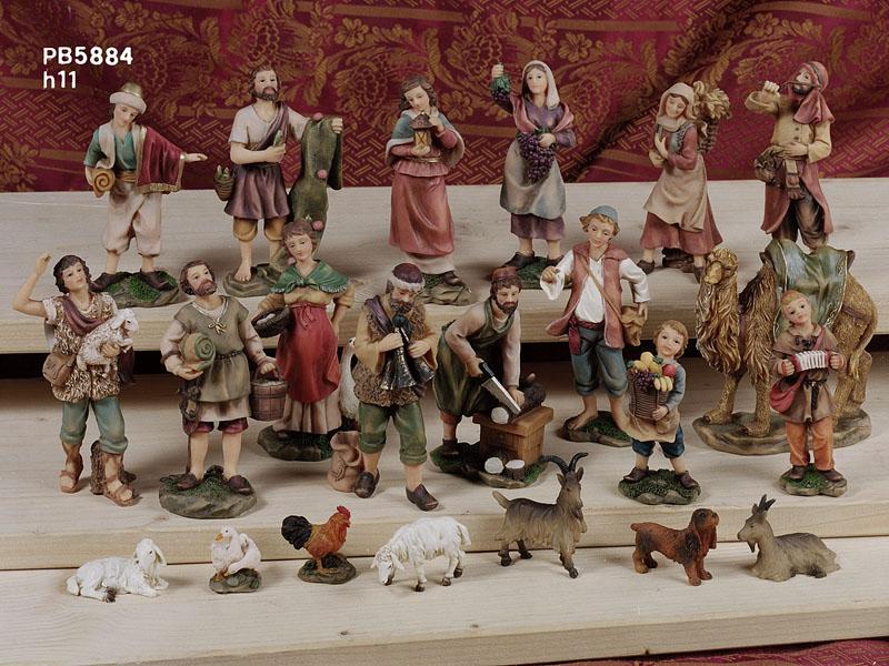 1080 - Presepi - Natività Resina - Natale e Altre Ricorrenze - Prodotti - Rebolab