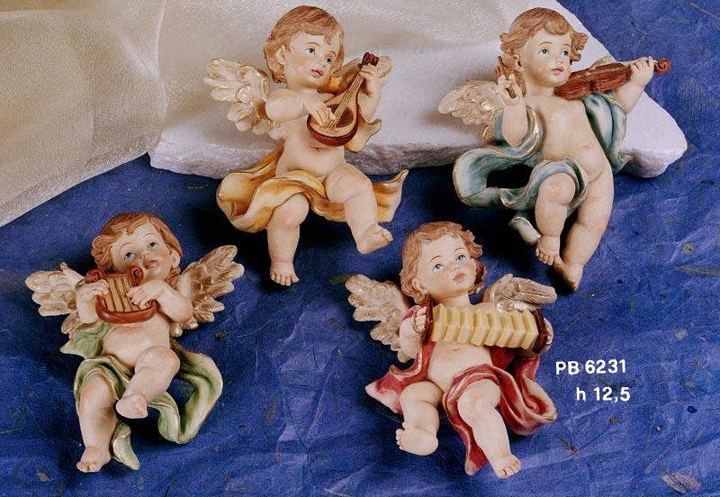 10C1 - Angeli Resina - Natale e Altre Ricorrenze - Prodotti - Rebolab