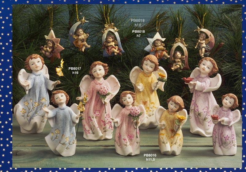 117C - Angeli Resina - Articoli Religiosi - Prodotti - Rebolab