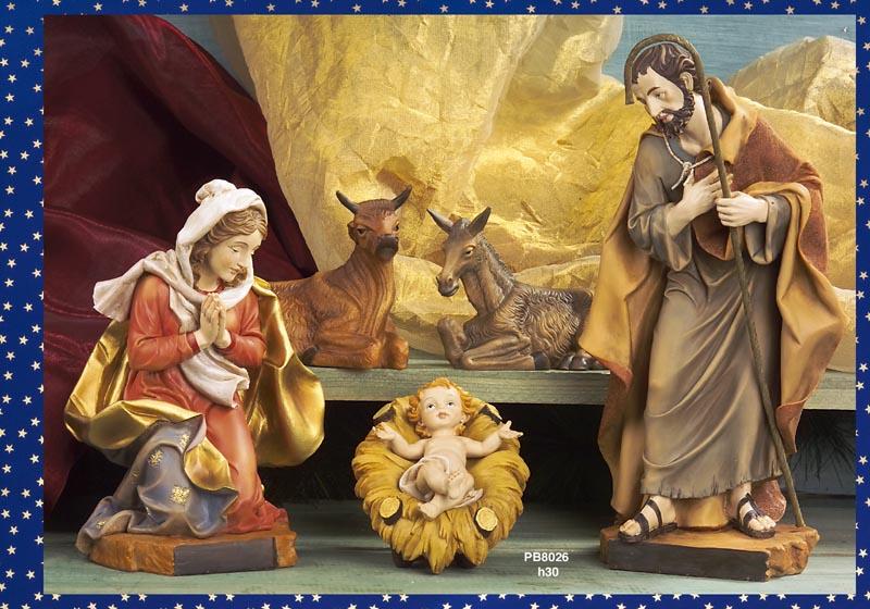 1180 - Presepi - Natività Resina - Natale e Altre Ricorrenze - Prodotti - Rebolab