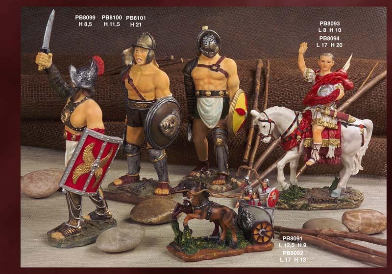 Paben - Prodotti - Arte Storia Souvenir - Statuine Storiche - 118E