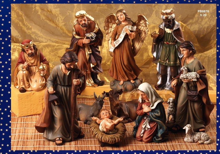 1213 - Presepi - Natività Resina - Natale e Altre Ricorrenze - Prodotti - Rebolab