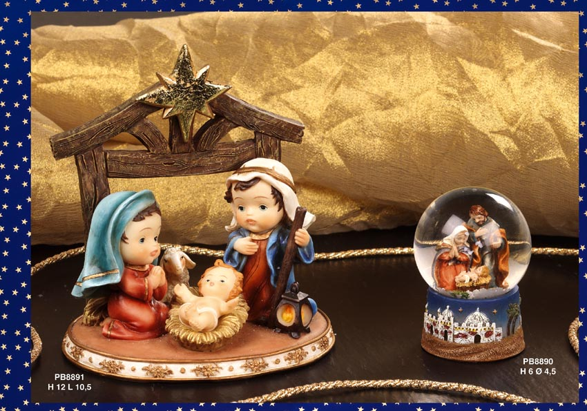 1216 - Presepi - Natività Resina - Natale e Altre Ricorrenze - Prodotti - Rebolab