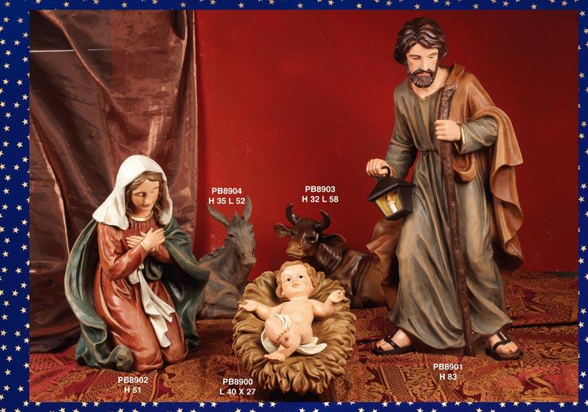 1219 - Presepi - Natività Resina - Articoli Religiosi - Prodotti - Rebolab