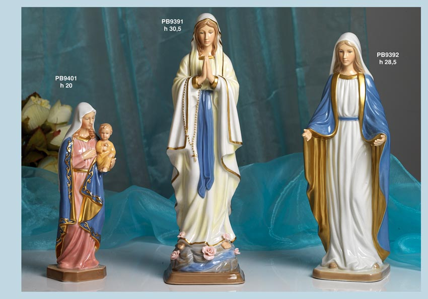 12AE - Statue Santi-Immagini Sacre Nàvel - Nàvel Porcellana - Prodotti - Rebolab