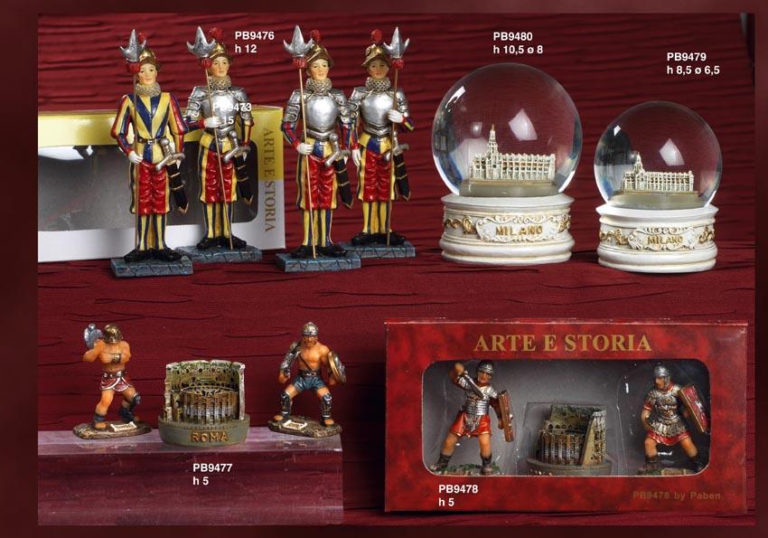 12D8 - Statuine Storiche - Arte, Storia e Souvenir - Prodotti - Rebolab