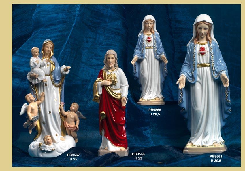 Paben - Prodotti - Nàvel Porcellana d'Autore - Statuine Santi - Immagini Sacre 'Nàvel' - 12F2