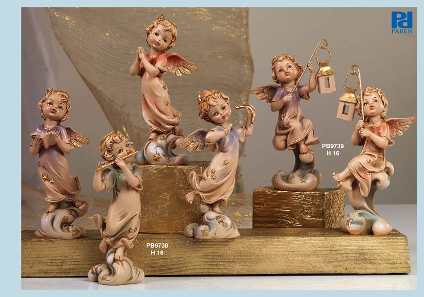 1321 - Angeli Resina - Natale e Altre Ricorrenze - Prodotti - Rebolab