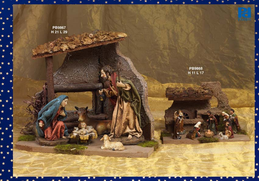 1346 - Presepi - Natività Resina - Natale e Altre Ricorrenze - Prodotti - Rebolab