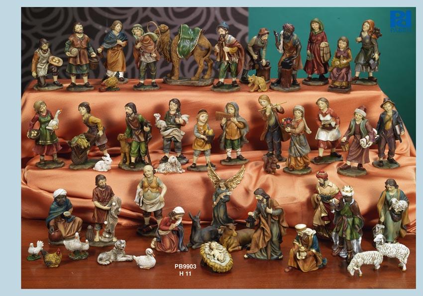 135C - Presepi - Natività Resina - Articoli Religiosi - Prodotti - Rebolab