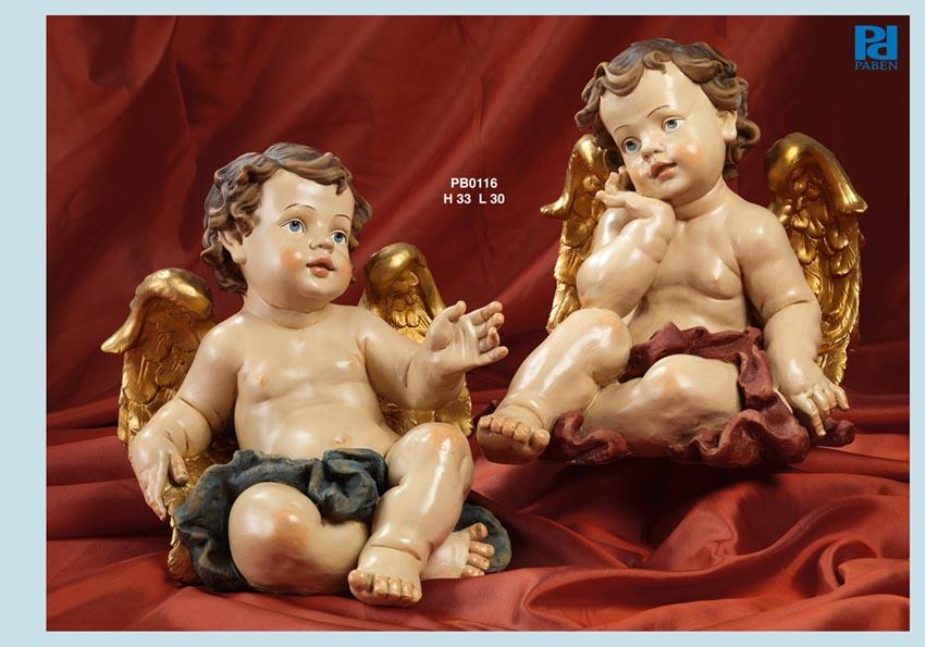 139D - Angeli Resina - Articoli Religiosi - Prodotti - Rebolab
