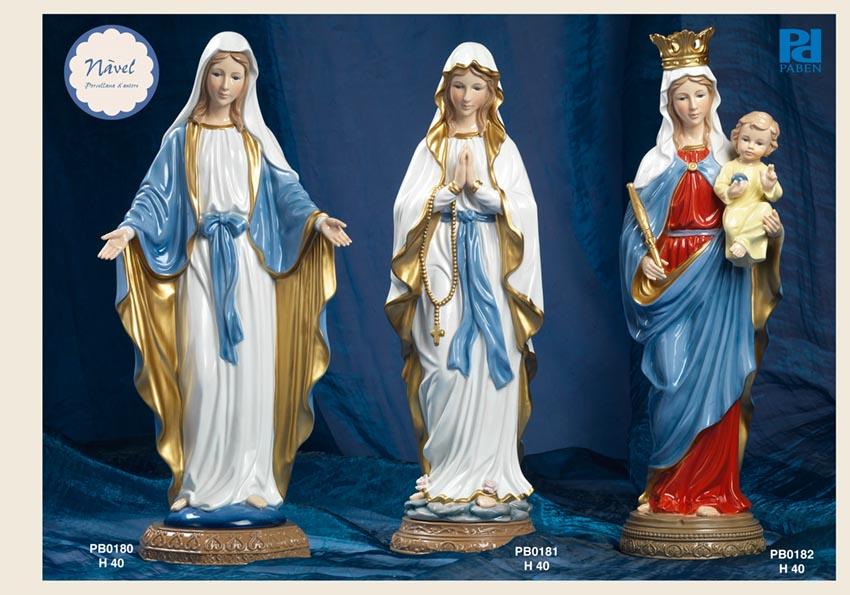 13B1 - Statue Santi-Immagini Sacre Nàvel - Nàvel Porcellana - Prodotti - Rebolab