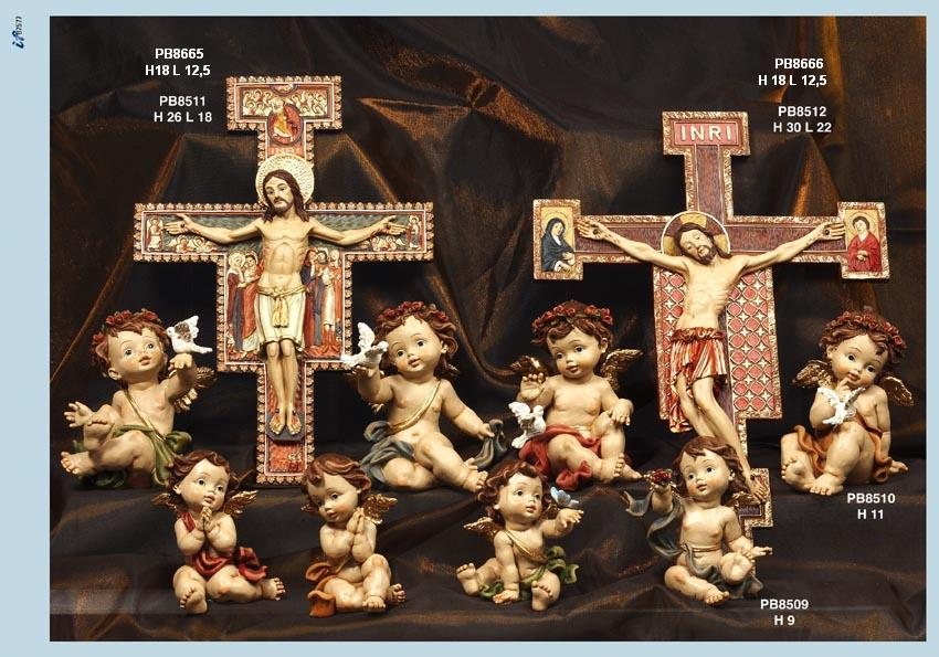 13D0 - Angeli Resina - Articoli Religiosi - Prodotti - Rebolab