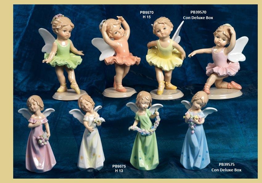13D7 - Bambini e Ballerine 'Nàvel' - Articoli Regalo - Bomboniere Porcellana - Prodotti - Rebolab