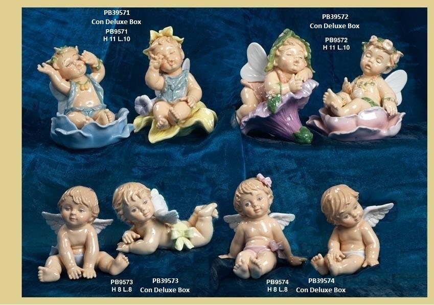 13D8 - Bambini e Ballerine 'Nàvel' - Articoli Regalo - Bomboniere Porcellana - Prodotti - Rebolab