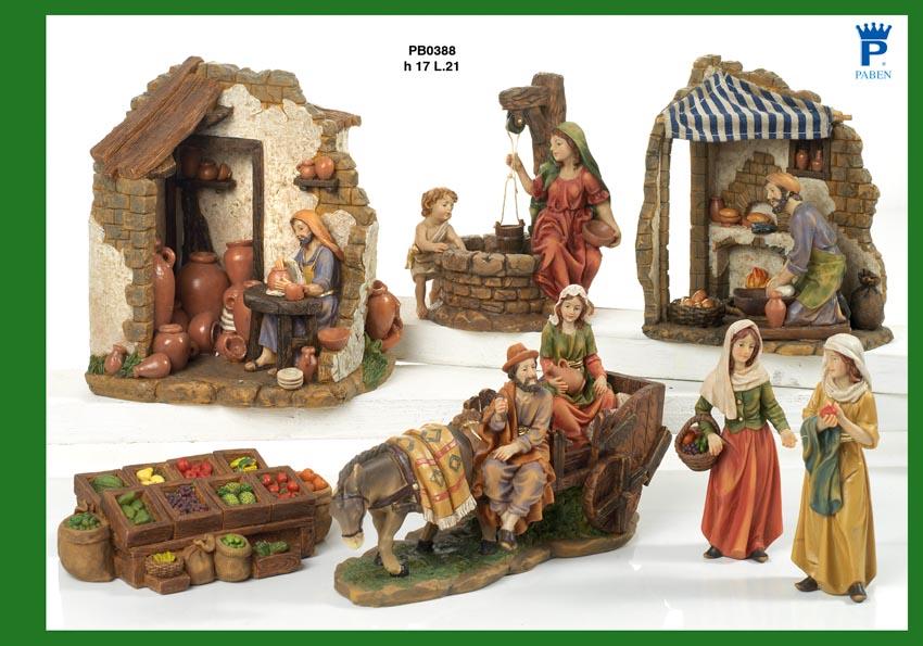 1439 - Presepi - Natività Resina - Articoli Religiosi - Prodotti - Rebolab