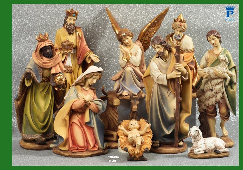 1464 - Presepi - Natività Resina - Articoli Religiosi - Prodotti - Rebolab