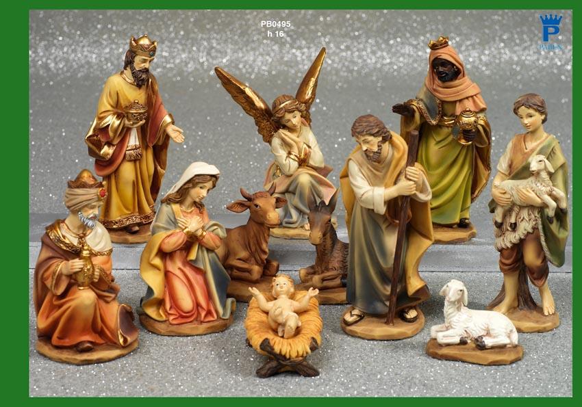 1465 - Presepi - Natività Resina - Articoli Religiosi - Prodotti - Rebolab