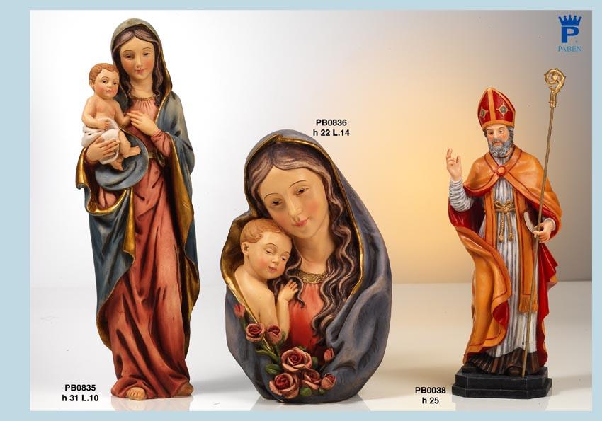 147A - Statue Santi - Articoli Religiosi - Prodotti - Rebolab