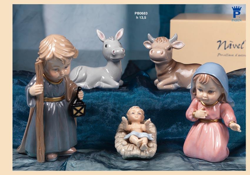 14A7 - Presepi - Bambinelli Nàvel - Articoli Religiosi - Prodotti - Rebolab