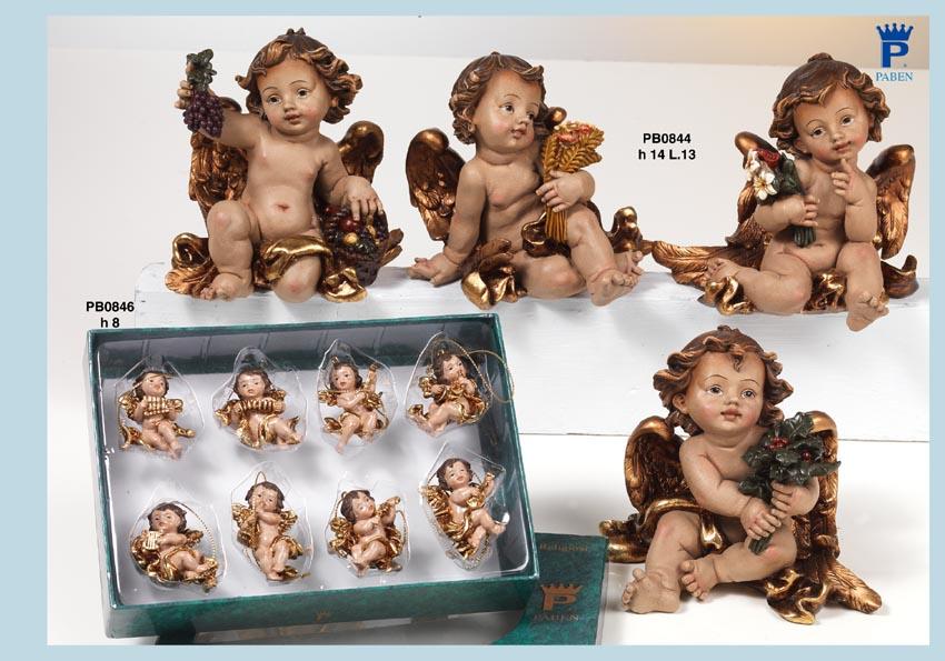 14C9 - Angeli Resina - Articoli Religiosi - Prodotti - Rebolab