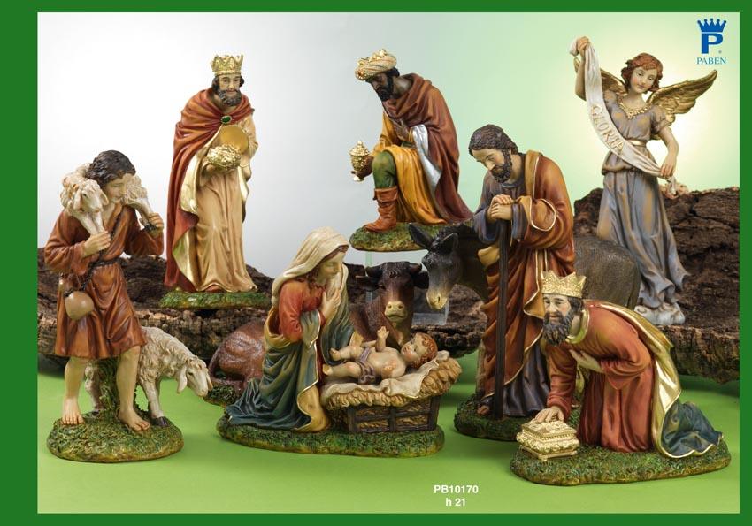 1535 - Presepi - Natività Resina - Articoli Religiosi - Prodotti - Rebolab