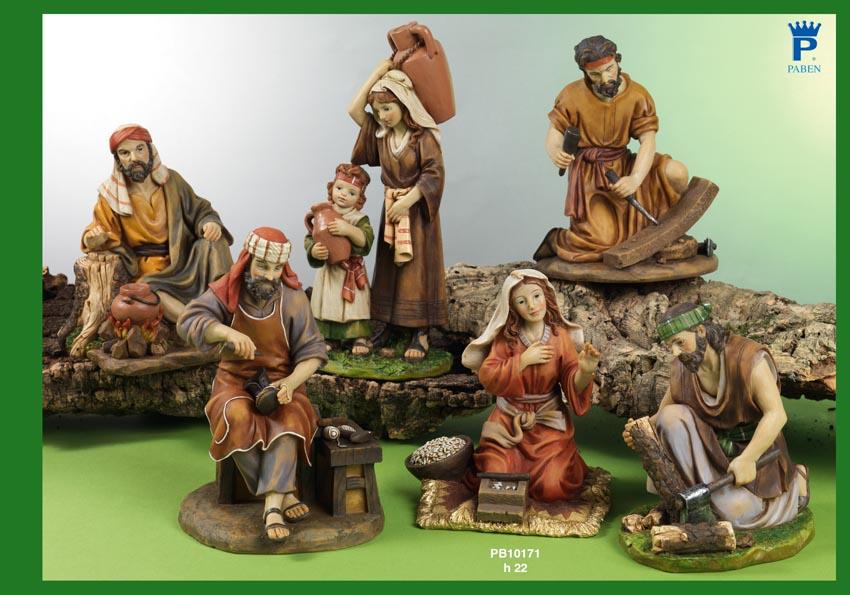 1536 - Presepi - Natività Resina - Articoli Religiosi - Prodotti - Rebolab