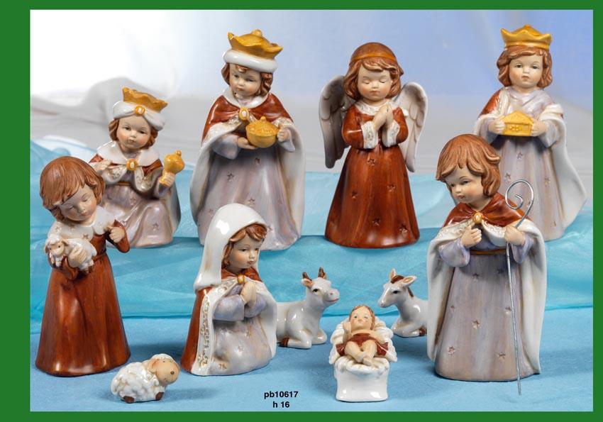 15B5 - Presepi - Natività Porcellana - Articoli Religiosi - Prodotti - Rebolab