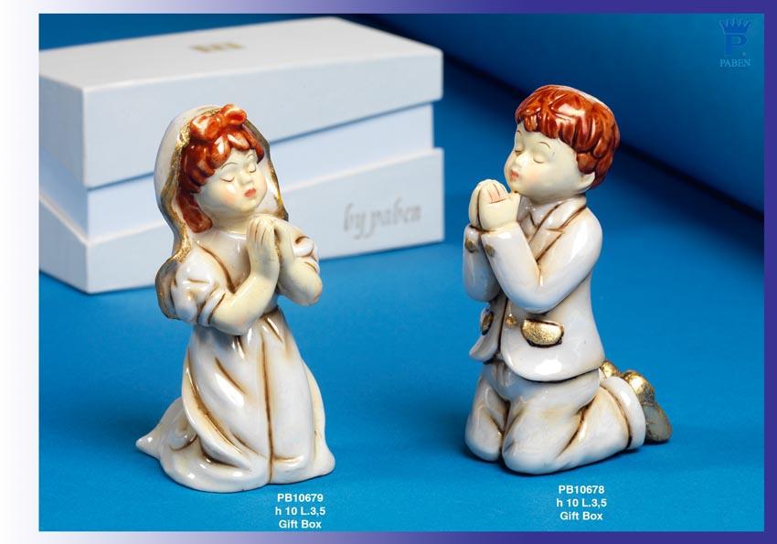 15C5 - Bambini - Fatine Porcellana - Mandorle Bomboniere  - Prodotti - Rebolab