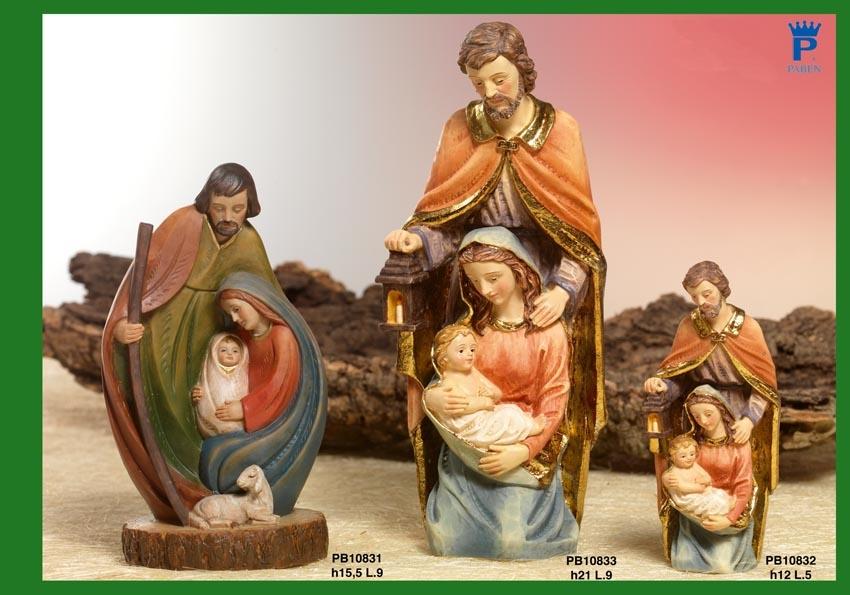 15F5 - Presepi - Natività Resina - Natale e Altre Ricorrenze - Prodotti - Rebolab