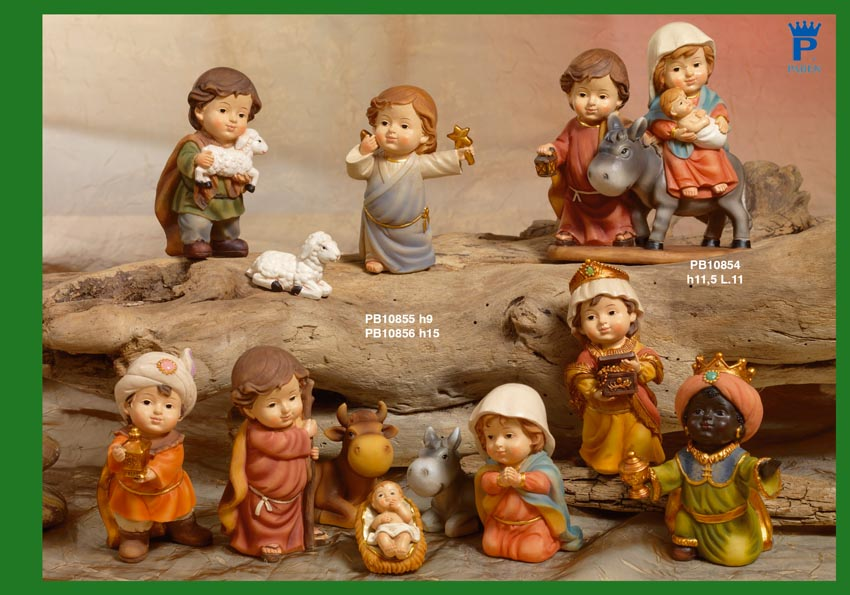 1600 - Presepi - Natività Resina - Natale e Altre Ricorrenze - Prodotti - Rebolab