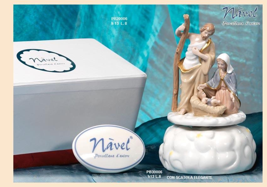 1630 - Presepi - Bambinelli Nàvel - Nàvel Porcellana - Prodotti - Rebolab