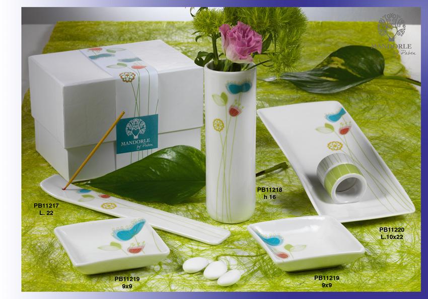 167B - Collezioni Porcellana-Ceramica - Mandorle Bomboniere  - Prodotti - Rebolab