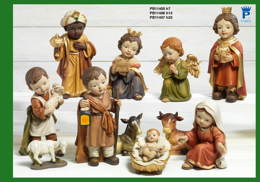 16B7 - Presepi - Natività Resina - Natale e Altre Ricorrenze - Prodotti - Rebolab