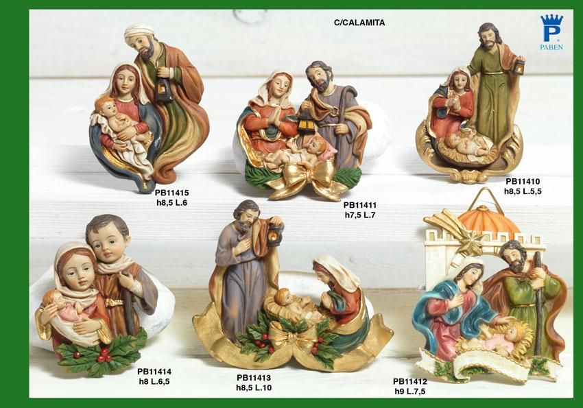 16B9 - Presepi - Natività Resina - Natale e Altre Ricorrenze - Prodotti - Rebolab