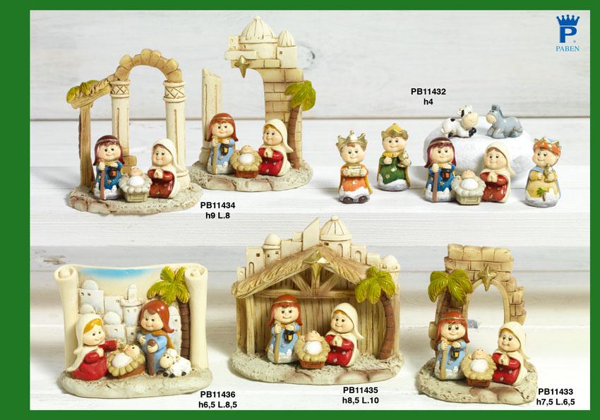16C0 - Presepi - Natività Resina - Natale e Altre Ricorrenze - Prodotti - Rebolab
