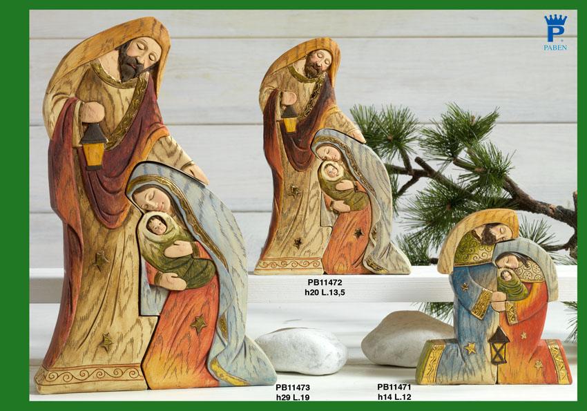 16CC - Presepi - Natività Resina - Articoli Religiosi - Prodotti - Rebolab