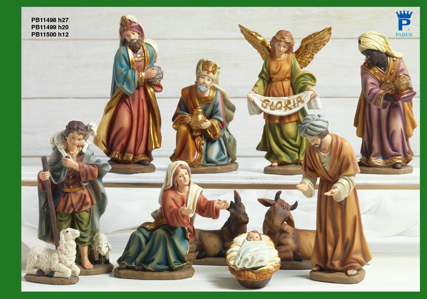 16D5 - Presepi - Natività Resina - Articoli Religiosi - Prodotti - Rebolab