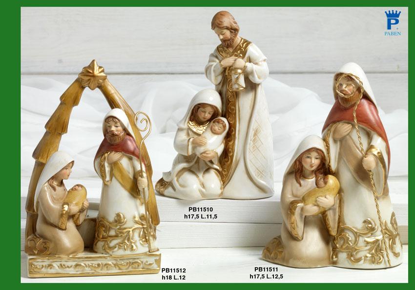 16DA - Presepi - Natività Porcellana - Articoli Religiosi - Prodotti - Rebolab