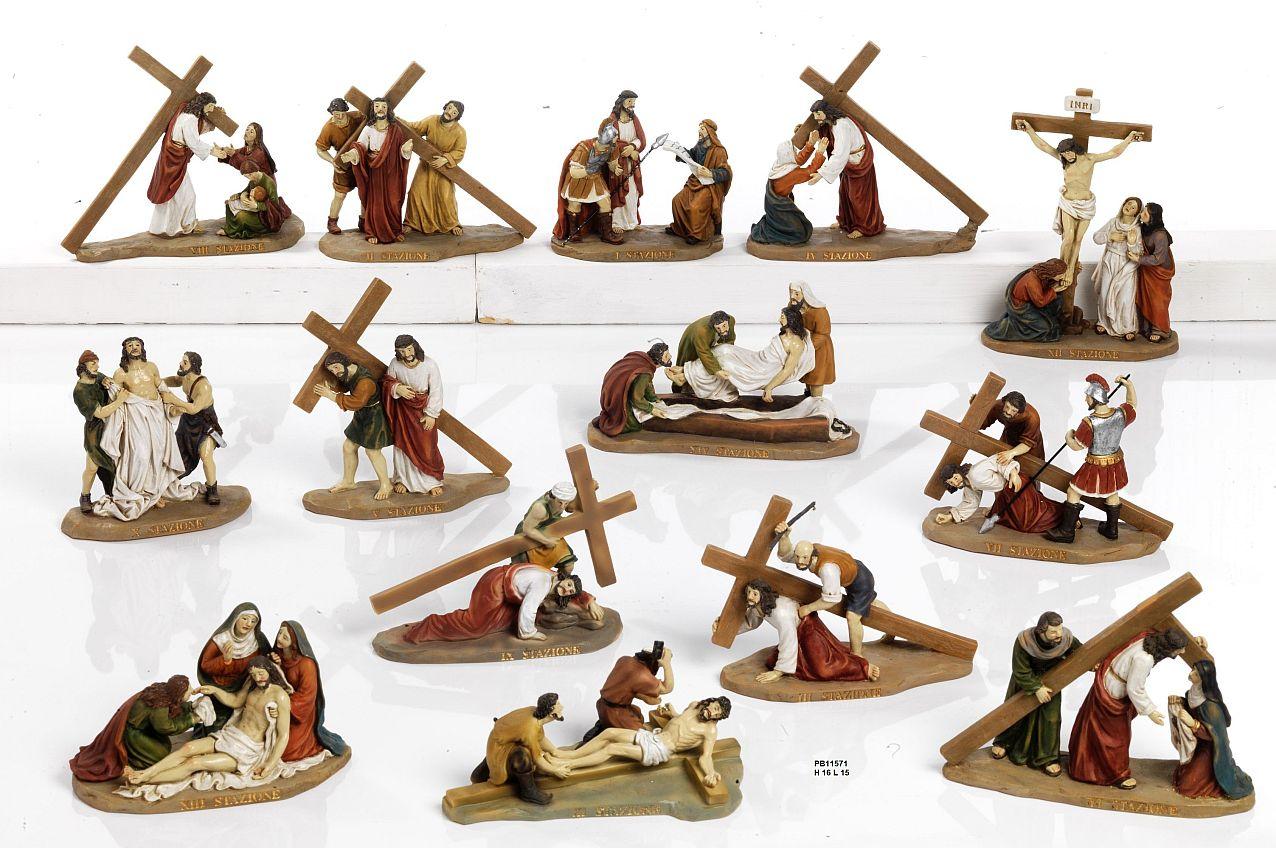 16EF - Statue Pasquali - Natale e Altre Ricorrenze - Prodotti - Rebolab