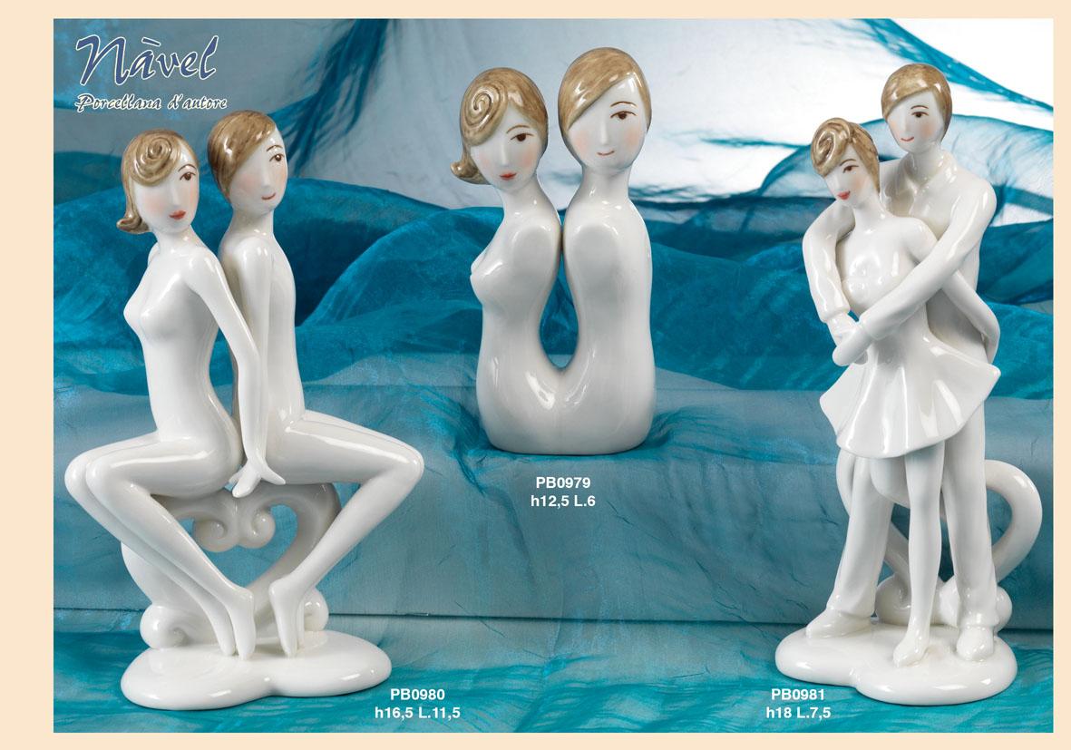 16F3 - Statuine Nàvel - Nàvel Porcellana - Prodotti - Rebolab