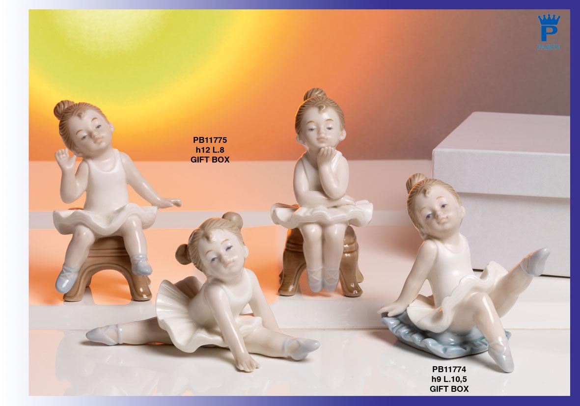 1726 - Bambini - Fatine Porcellana - Mandorle Bomboniere  - Prodotti - Rebolab