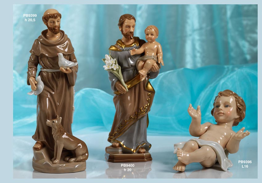 175B - Statue Santi-Immagini Sacre Nàvel - Nàvel Porcellana - Prodotti - Rebolab