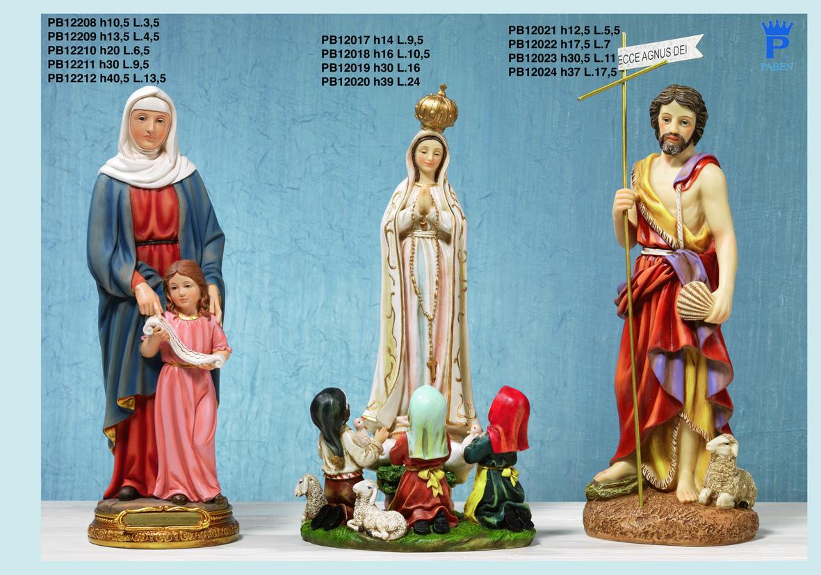 176E - Statue Santi - Articoli Religiosi - Prodotti - Rebolab