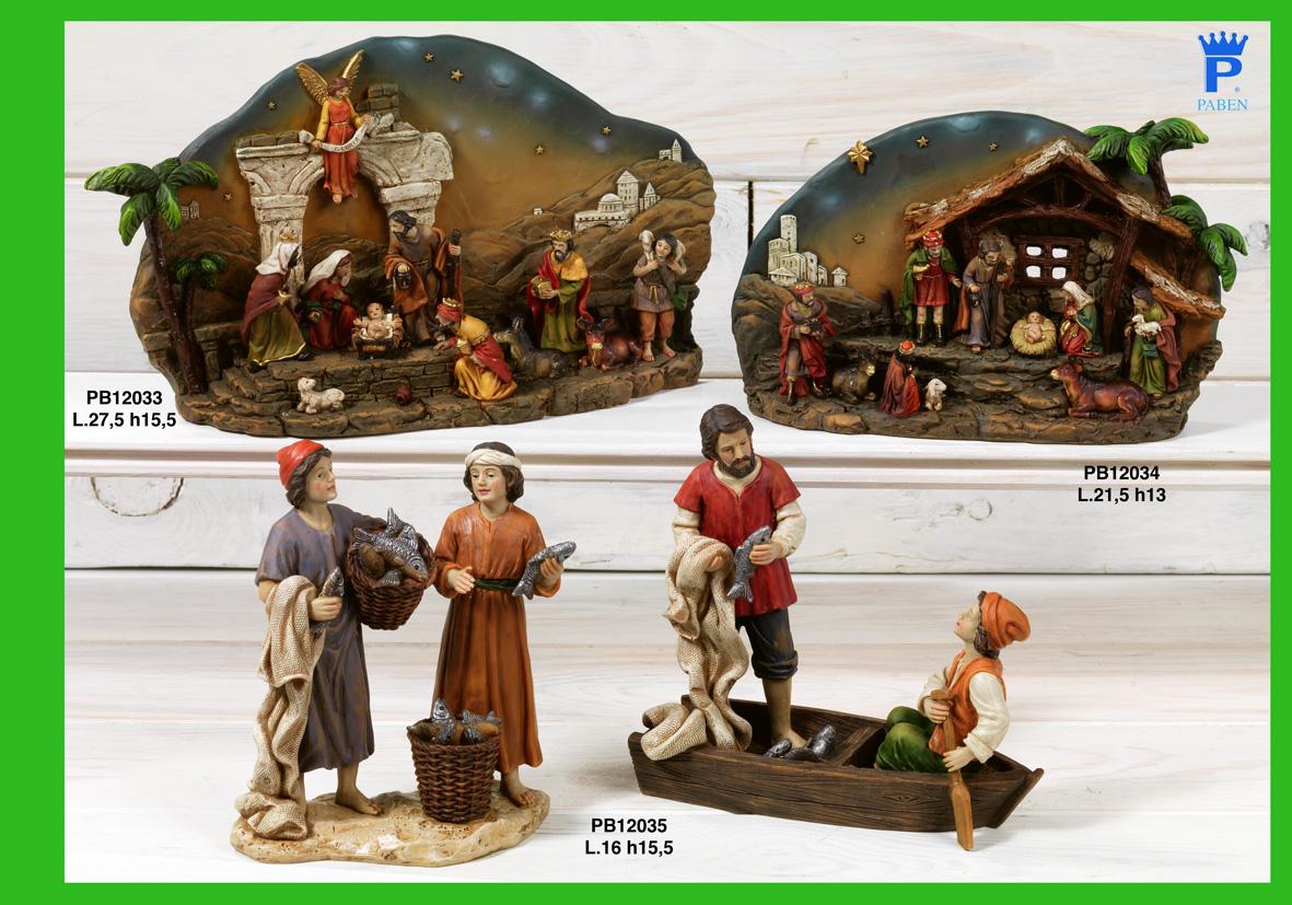 1770 - Presepi - Natività Resina - Articoli Religiosi - Prodotti - Rebolab