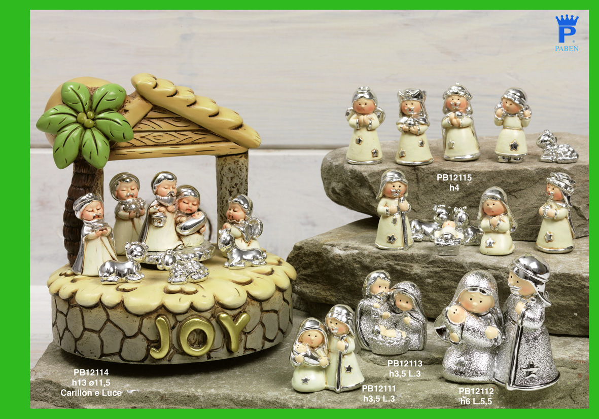 1783 - Presepi - Natività Resina - Natale e Altre Ricorrenze - Prodotti - Rebolab