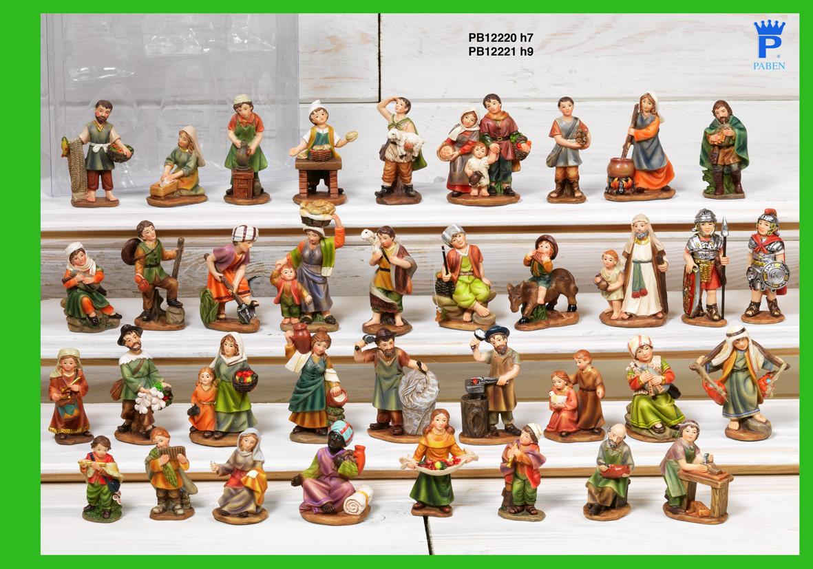17A9 - Presepi - Natività Resina - Natale e Altre Ricorrenze - Prodotti - Rebolab